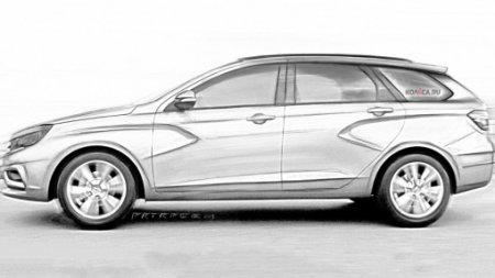 «АвтоВАЗ» построил прототип универсала Lada Vesta Cross