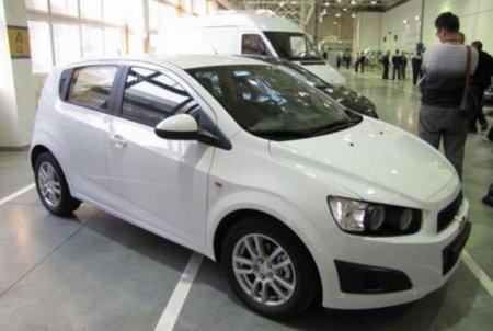 Появились первые снимки российской версии Chevrolet Aveo