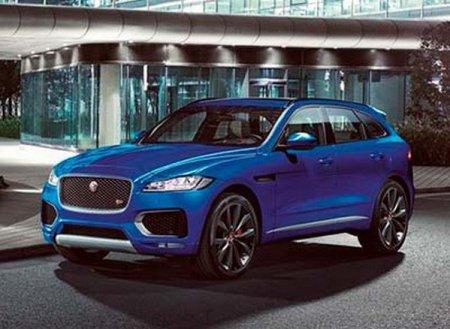 Jaguar Land Rover презентует Jaguar F-PACE