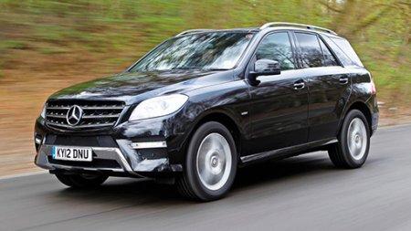 Mercedes-Benz отзывает в России внедорожники M-Class